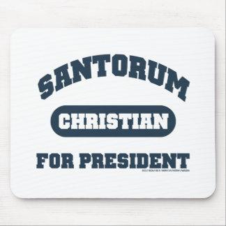 Christians for Santorum Mouse Pad