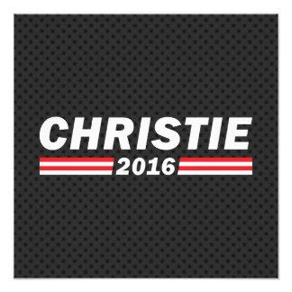 Christie 2016 (Chris Christie) Photo Print