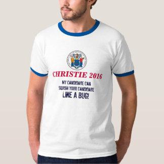 CHRISTIE 2016 Ringer T-Shirt