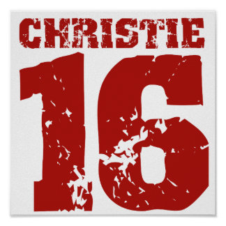CHRISTIE 2016 UNIFORM DISTRESSED -.png Posters