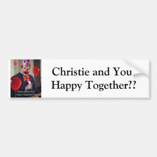Christie and You! Bumper Sticker