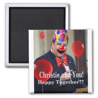 Christie and You! Square Magnet