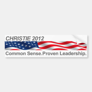 Christie Bumper Sticker