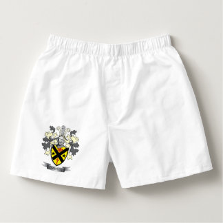Christie Family Crest Coat of Arms Boxers