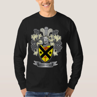 Christie Family Crest Coat of Arms T-Shirt