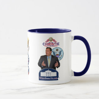 Christie for President Ringer Mug
