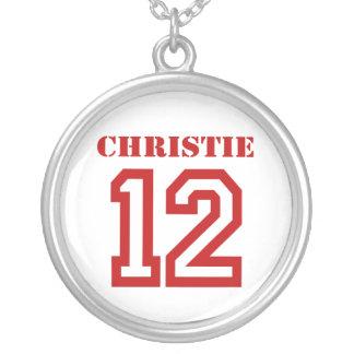 CHRISTIE IN '12 ROUND PENDANT NECKLACE