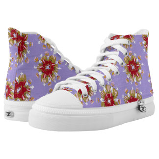 Christie Rose High Top Shoes