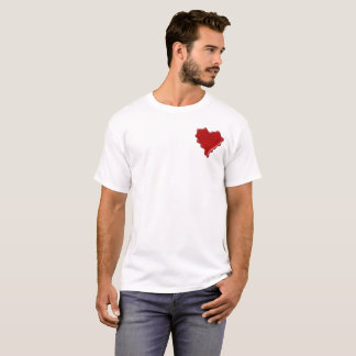 Christina. Red heart wax seal with name Christina. T-Shirt