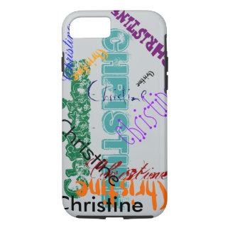 Christine Case iPhone Name Case