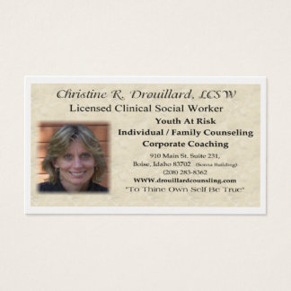 Christine Drouillard Business Card