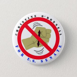 Christine for Senate 6 Cm Round Badge