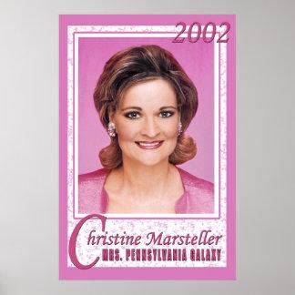Christine  - Mrs. PA Poster