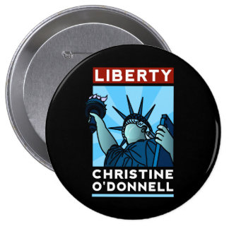 Christine O'Donnell 2010 American Liberty 10 Cm Round Badge