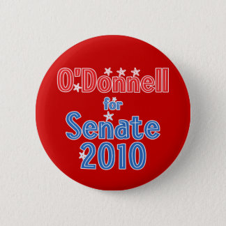 Christine O'Donnell for Senate 2010 Star Design 6 Cm Round Badge