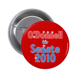 Christine O'Donnell for Senate 2010 Star Design 6 Cm Round Badge