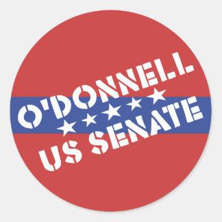 Christine O'Donnell for US Senate - Delaware Round Sticker