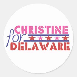 Christine O'Donnell for US Senate - Delaware Stickers