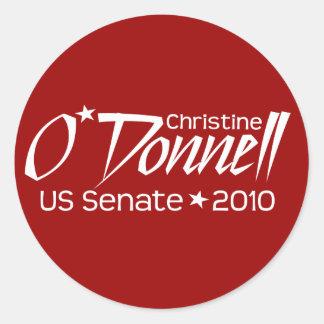 Christine O'Donnell Senate 2010 - Delaware Sticker