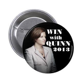 Christine Quinn for Mayor 6 Cm Round Badge