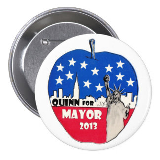 Christine Quinn for NYC Mayor in 2013 7.5 Cm Round Badge