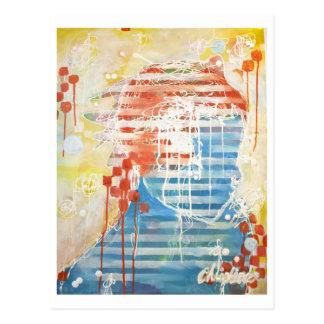 Christine's Painting Postcard