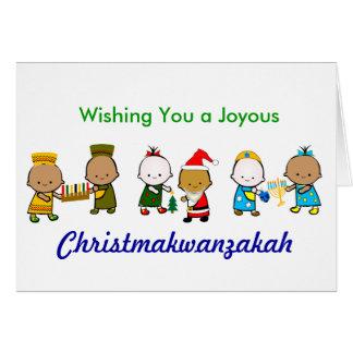 Christmakwanzakah Card