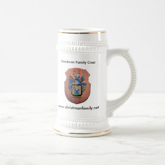 Christman Beer Stein 22oz
