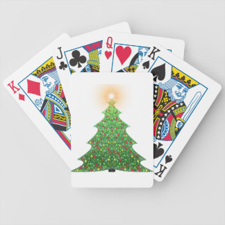 christmas-1081473 bicycle playing cards