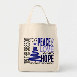 Christmas 1 CFS Chronic Fatigue Syndrome Canvas Bag