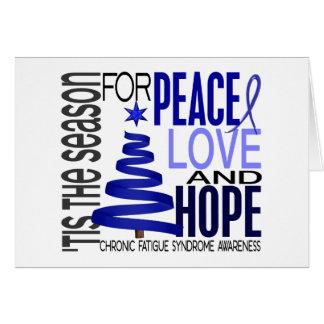 Christmas 1 CFS Chronic Fatigue Syndrome Greeting Card