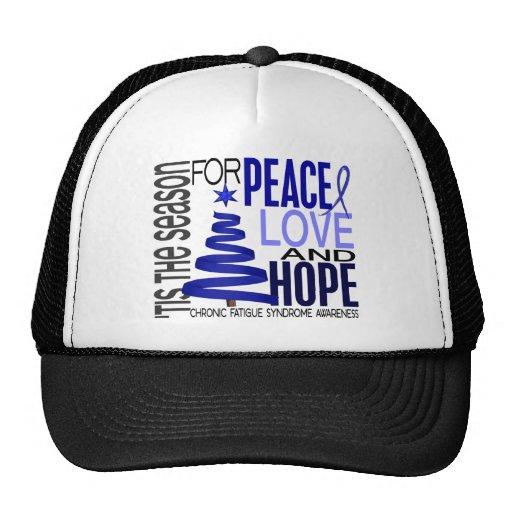 Christmas 1 CFS Chronic Fatigue Syndrome Mesh Hat