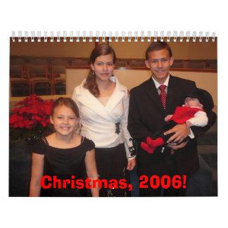 Christmas 2006 Calendar