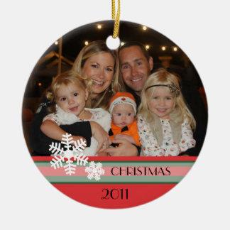 Christmas 2011 ceramic ornament