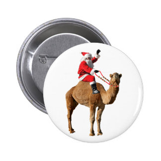 Christmas 2013 Hump Day Camel and Santa Buttons