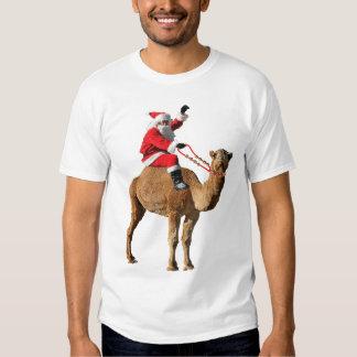 Christmas 2013 Hump Day Camel and Santa T-shirt