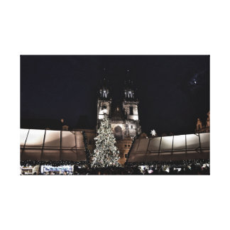 Christmas 2016, Prague Canvas Print