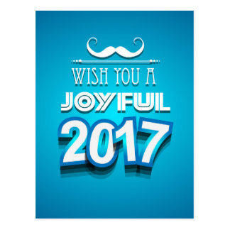 Christmas 2017 and New Year Greetings Card
