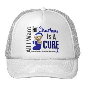 Christmas 2 CFS Chronic Fatigue Syndrome Mesh Hats