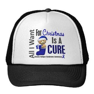 Christmas 2 CFS Chronic Fatigue Syndrome Hats