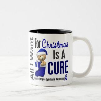 Christmas 2 CFS Chronic Fatigue Syndrome Mugs