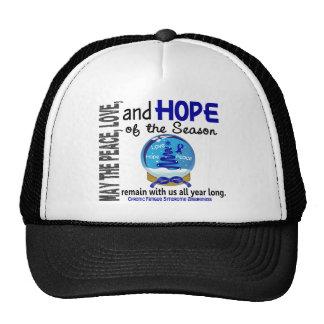 Christmas 3 CFS Chronic Fatigue Syndrome Trucker Hat