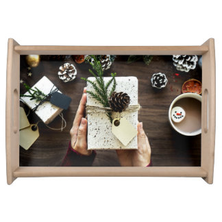 Christmas - A Time of Giving Serving Tray