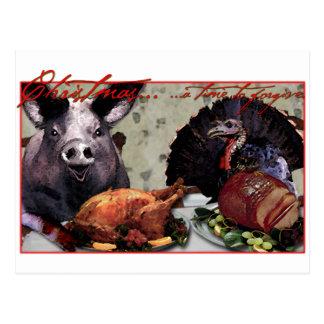 Christmas... a time to forgive. postcard