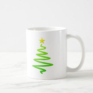 Christmas abstract tree mug