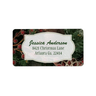 Christmas Address Stickers