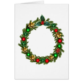 christmas advent decoration card