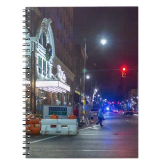 Christmas Alabama and Lyric Theaters Spiral Notebooks