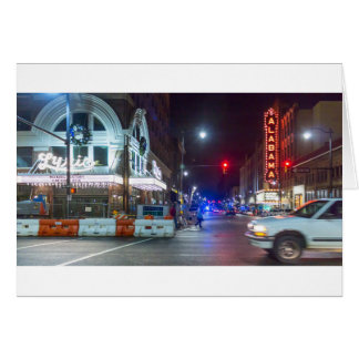 Christmas Alabama & Lyric Theatres Card