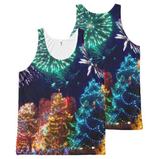 Christmas All-Over Print Tank Top